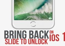 slide to unlock on ios 10