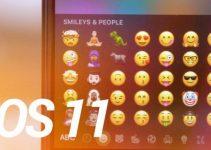 iOS 11 emojis