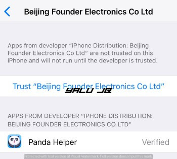 Panda Helper VIP - Free Hacked apps for iOS 11 [NO JAILBREAK]