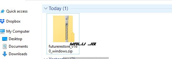 futurerestore for windows