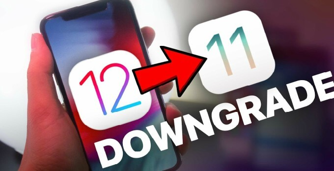 ios 12 downgrade to 11.4.1